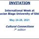 Logo - MIĘDZYNARODOWY TYDZIEŃ UNIWERSYTETU LUCIANA BLAGI W SIBIU, RUMUNIA